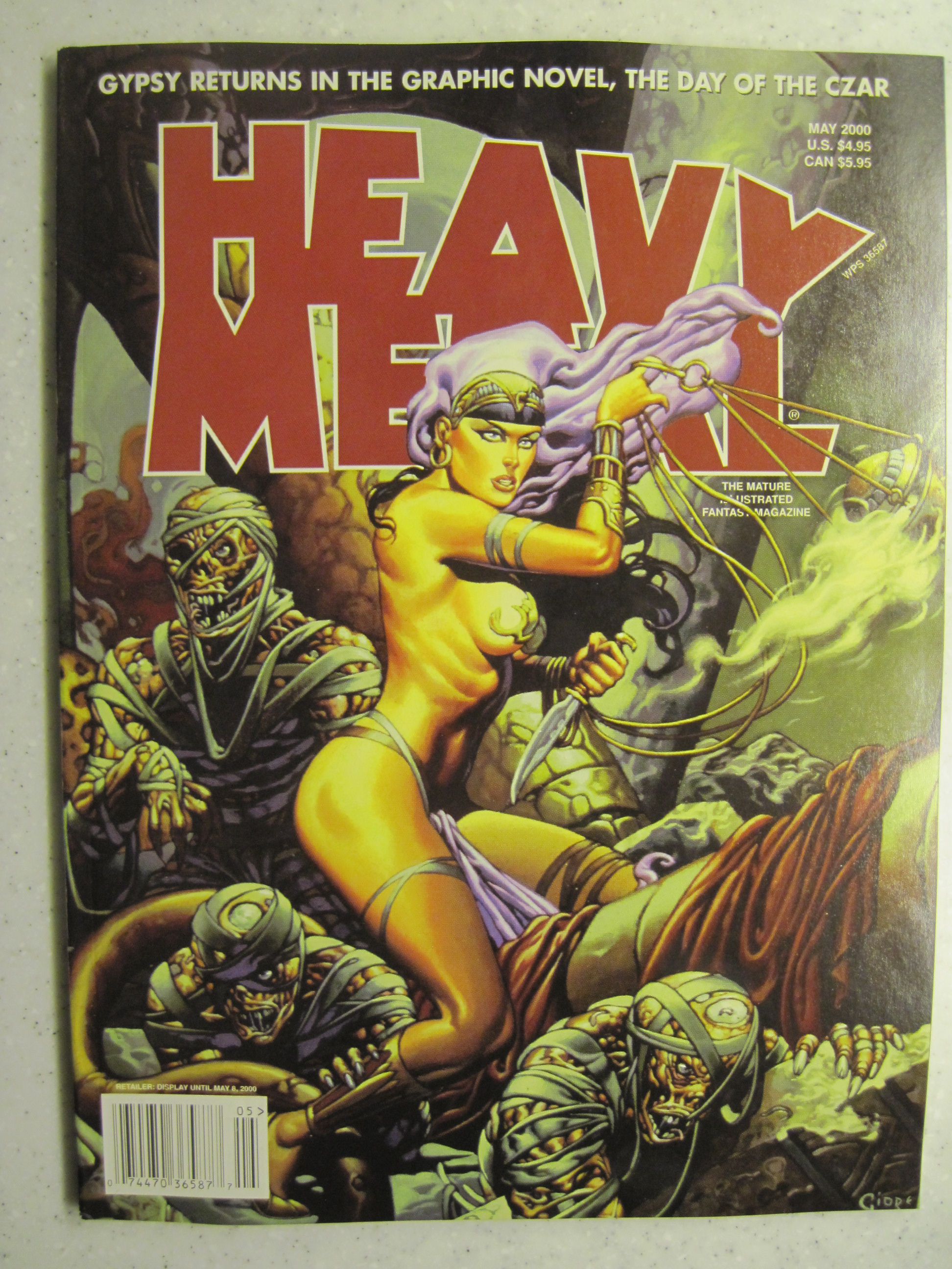 HEAVY METAL MAGAZINE MAY 2000 VF/NM