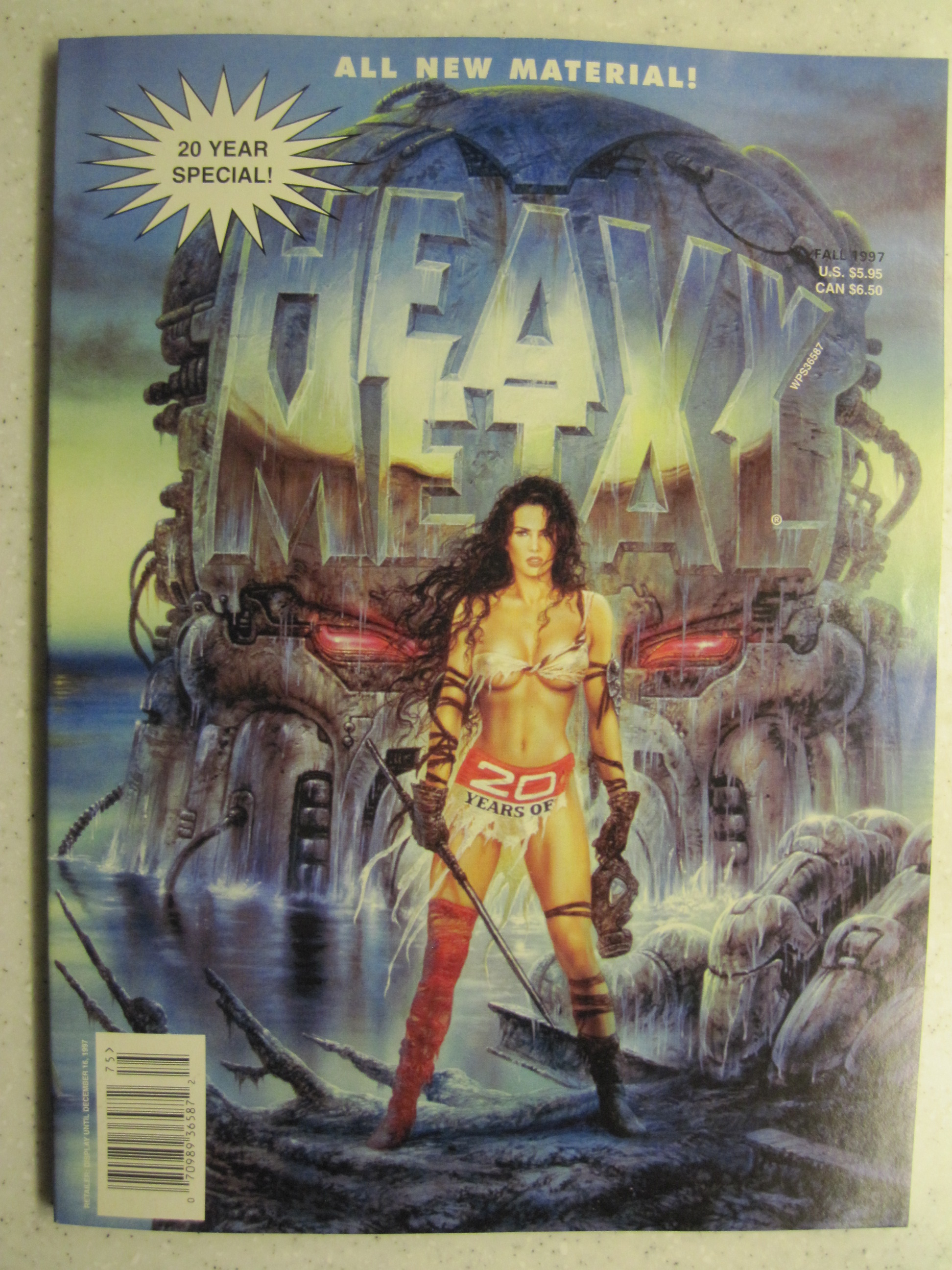 HEAVY METAL MAGAZINE 20 YEAR SPECIAL 97