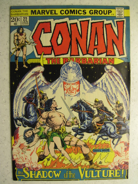 CONAN THE BARBARIAN # 22 MARVEL BRONZE SWORD SORCERY FANTASY HOWARD SMITH VG/FN