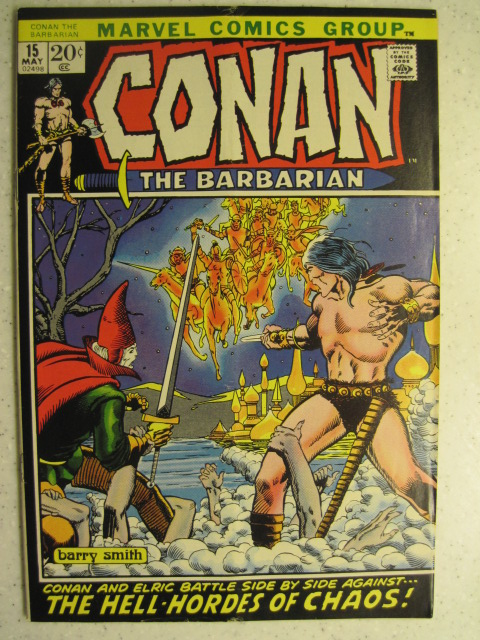 CONAN THE BARBARIAN # 15 MARVEL BRONZE SWORD SORCERY FANTASY HOWARD SMITH VG/FN