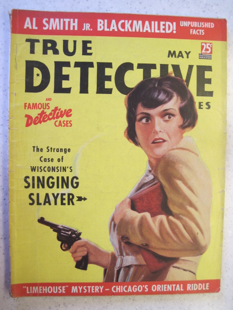 TRUE DETECTIVE MYSTERIES PULP MAGAZINE MAY 1937 VG+