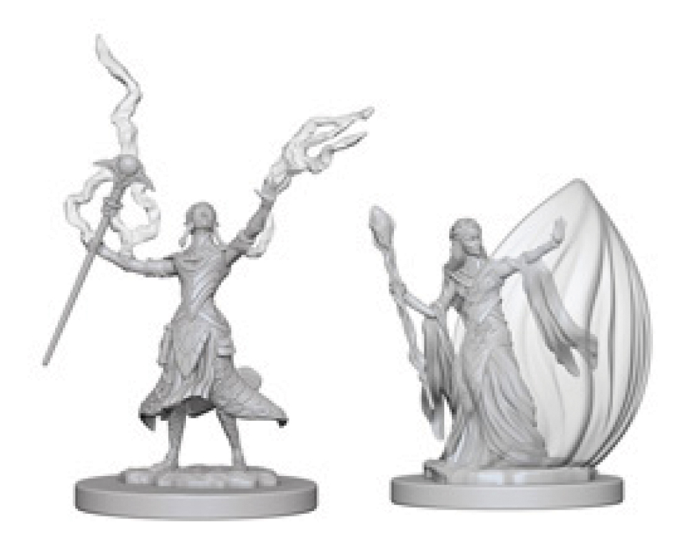 Dungeons & Dragons Nolzur`s Marvelous Unpainted Miniatures: W3 Elf Female Wizard