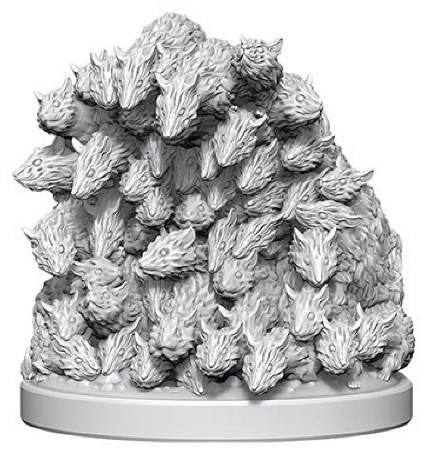 WizKids Deep Cuts Unpainted Miniatures: W4 Swarm of Rats