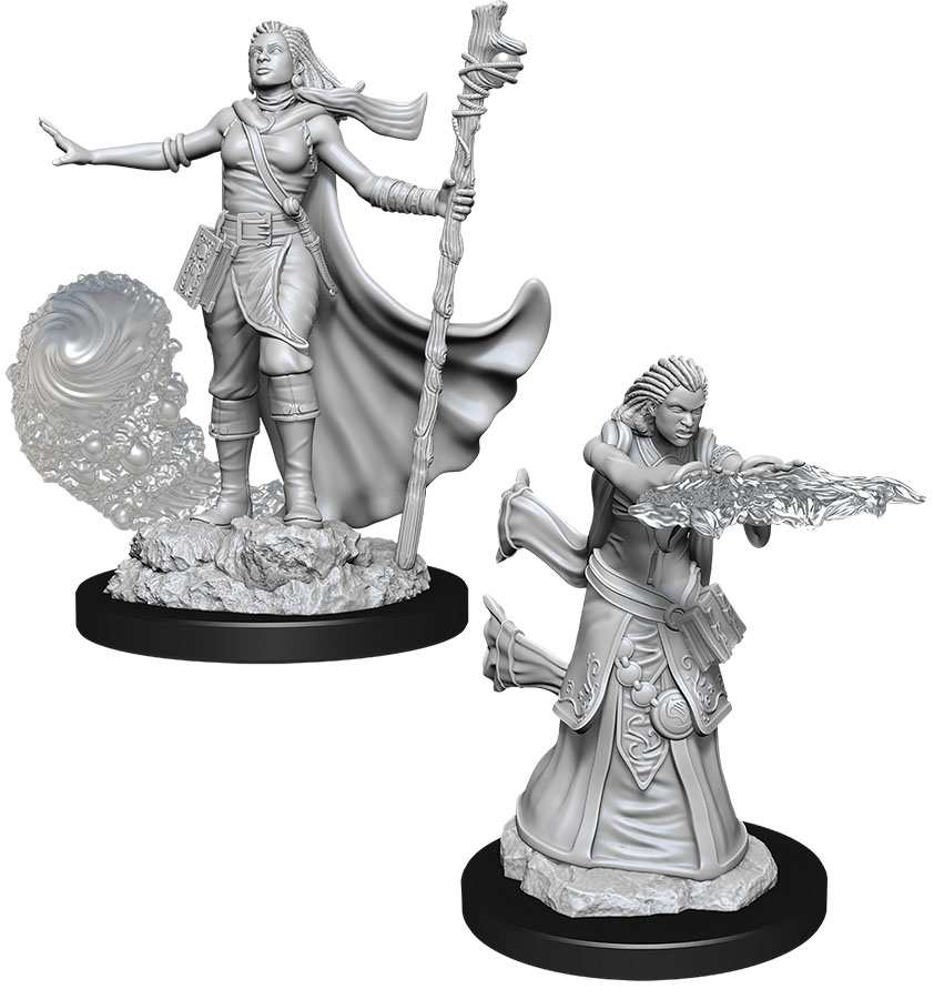 Dungeons & Dragons Nolzur`s Marvelous Unpainted Miniatures: W11 Female Human Wizard