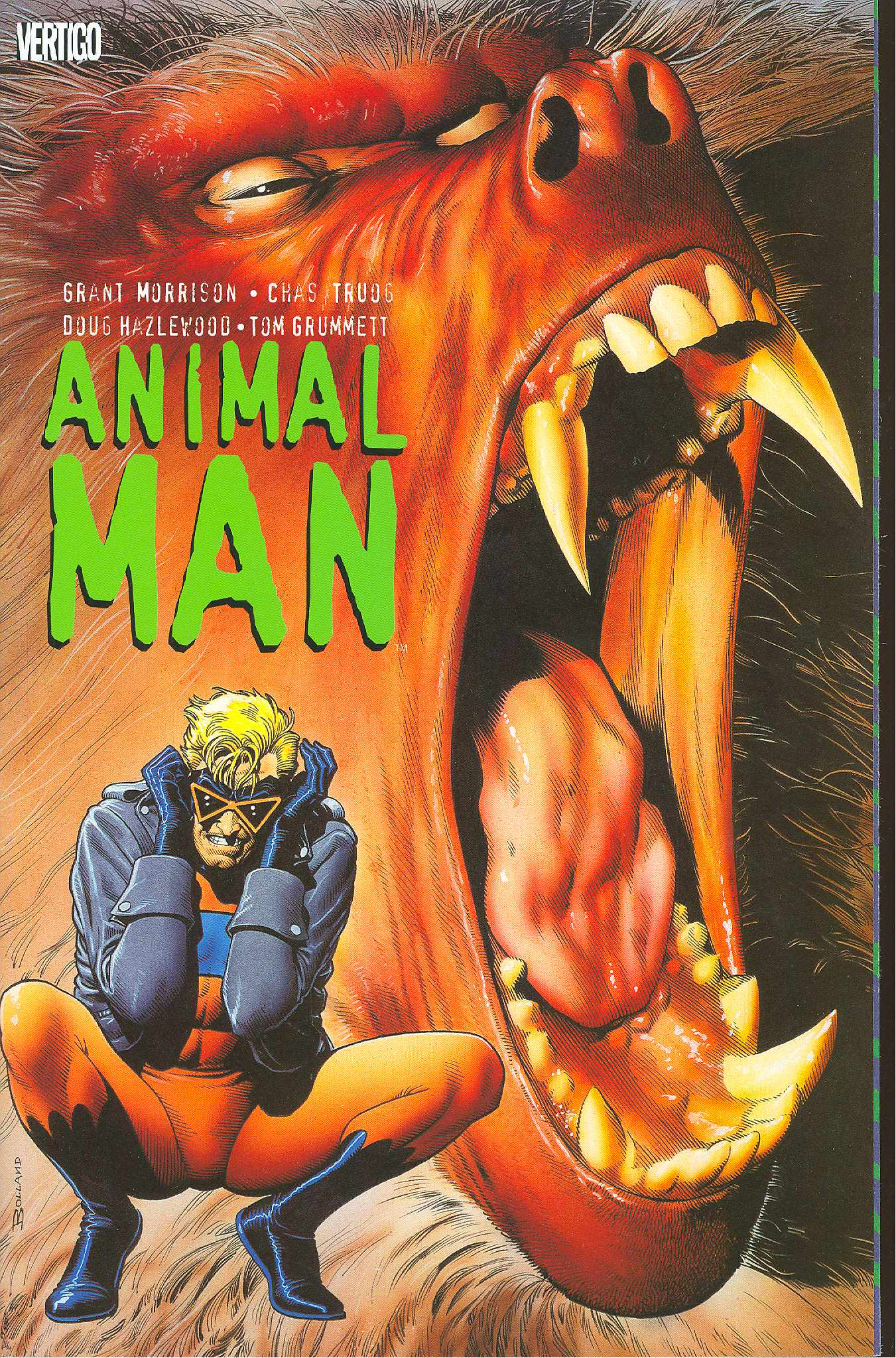 Animal Man PB GN Vol 1