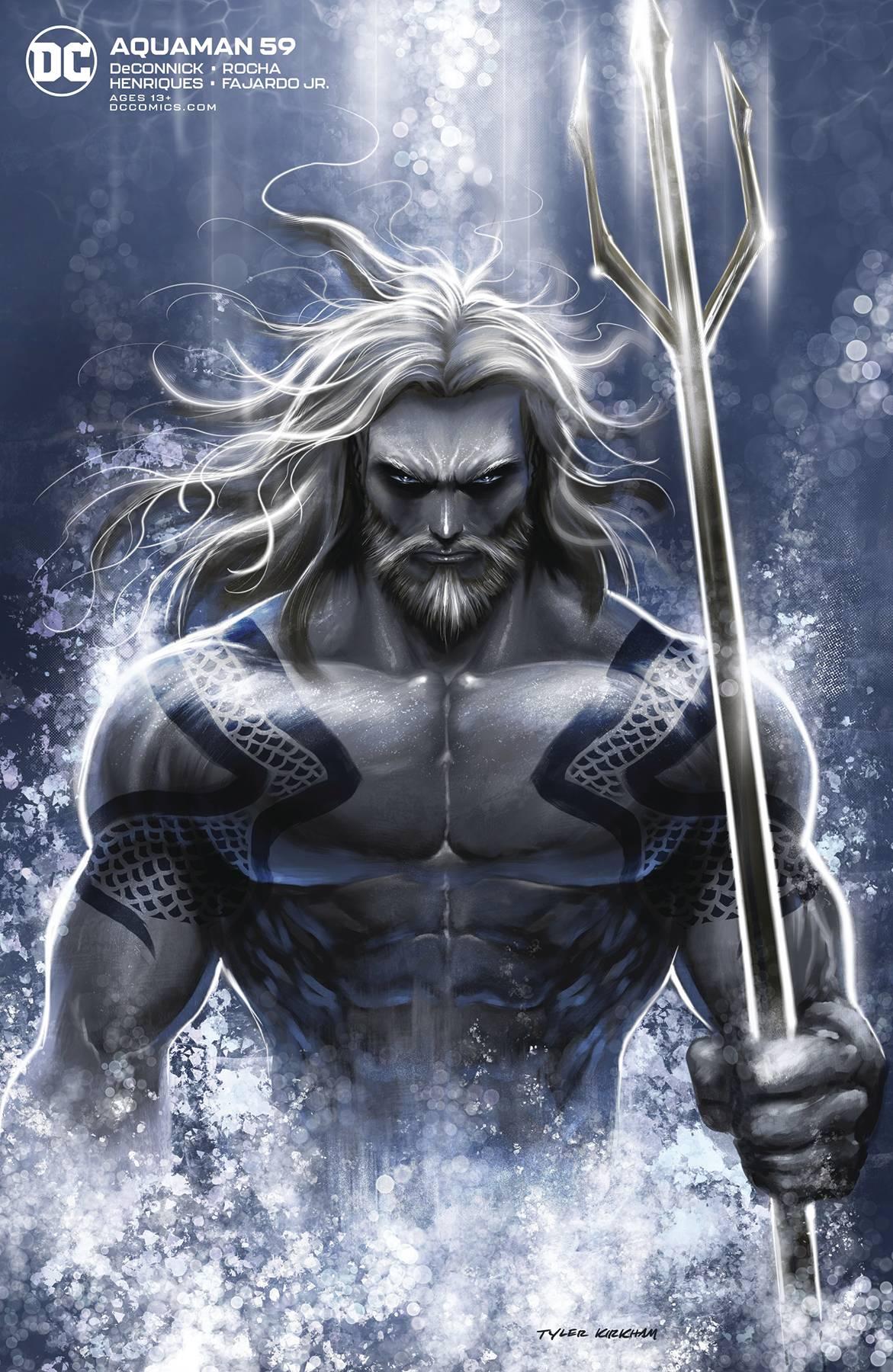 Aquaman #59 Tyler Kirkham Var Ed.