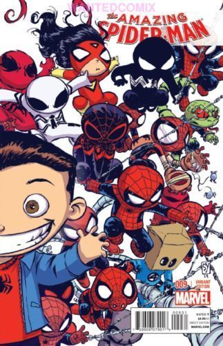 Amazing Spider-Man #9 Skottie Young Variant