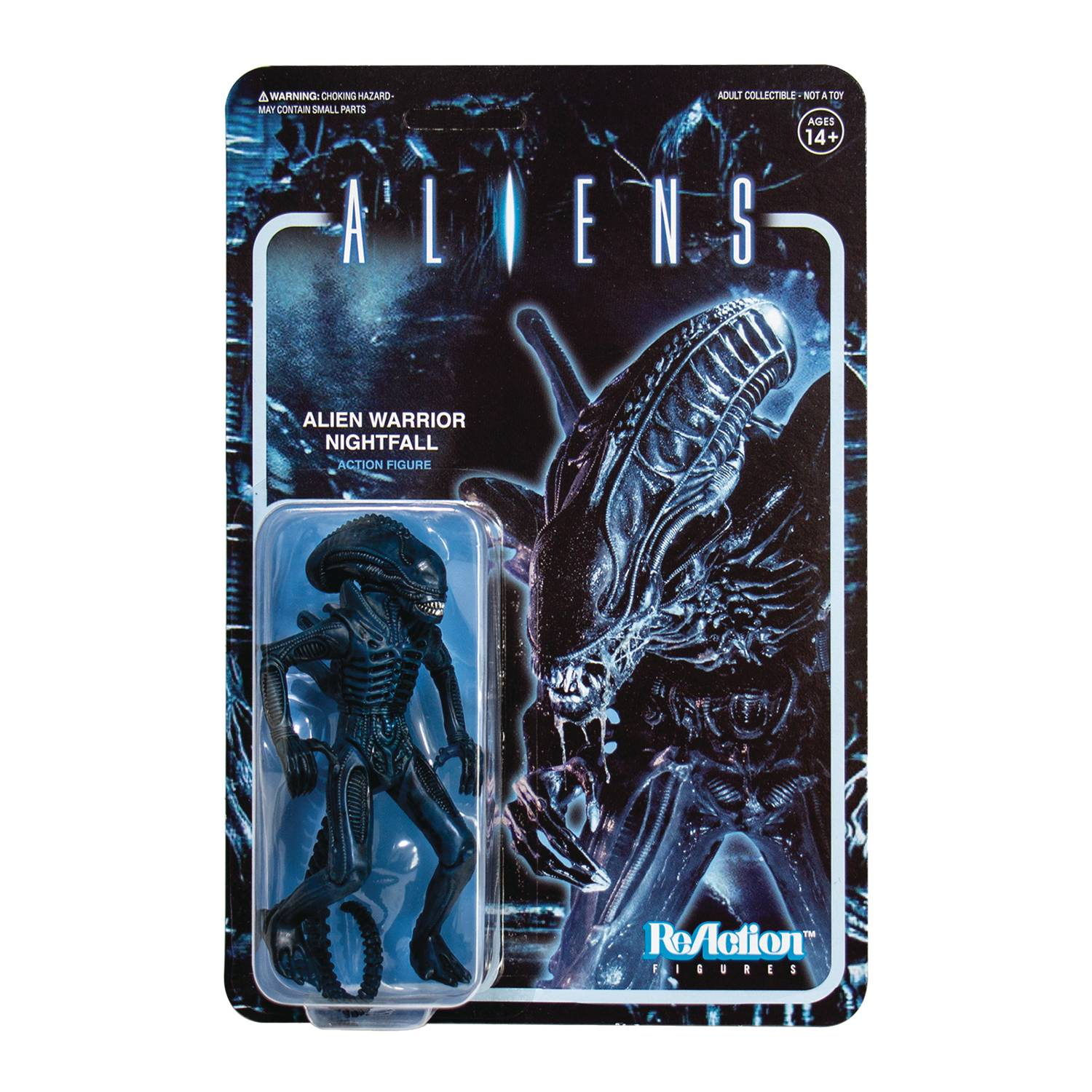 Reaction Figure Alien Warrior Nightfall Figure