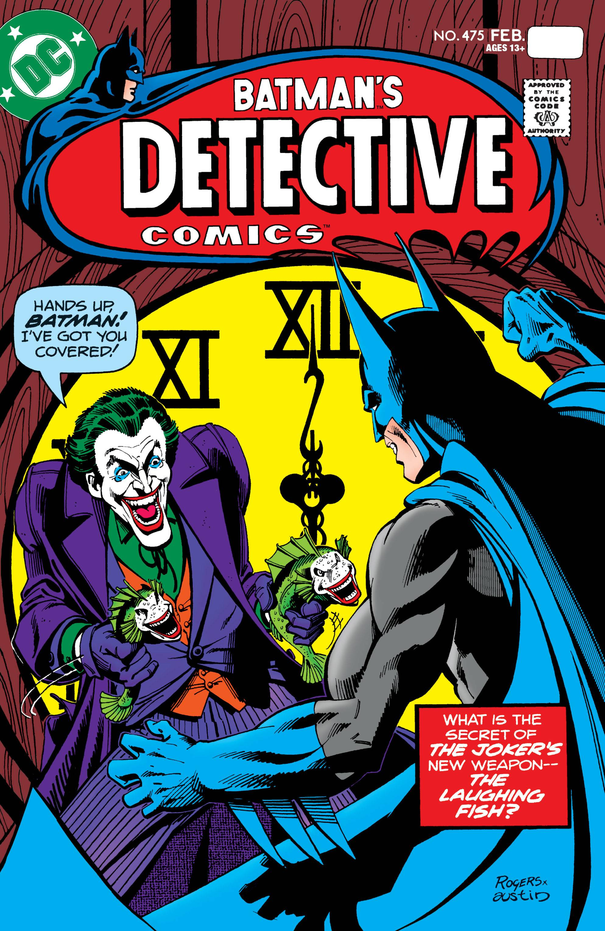 Batman Detective Comics #475 Facsimile Edition
