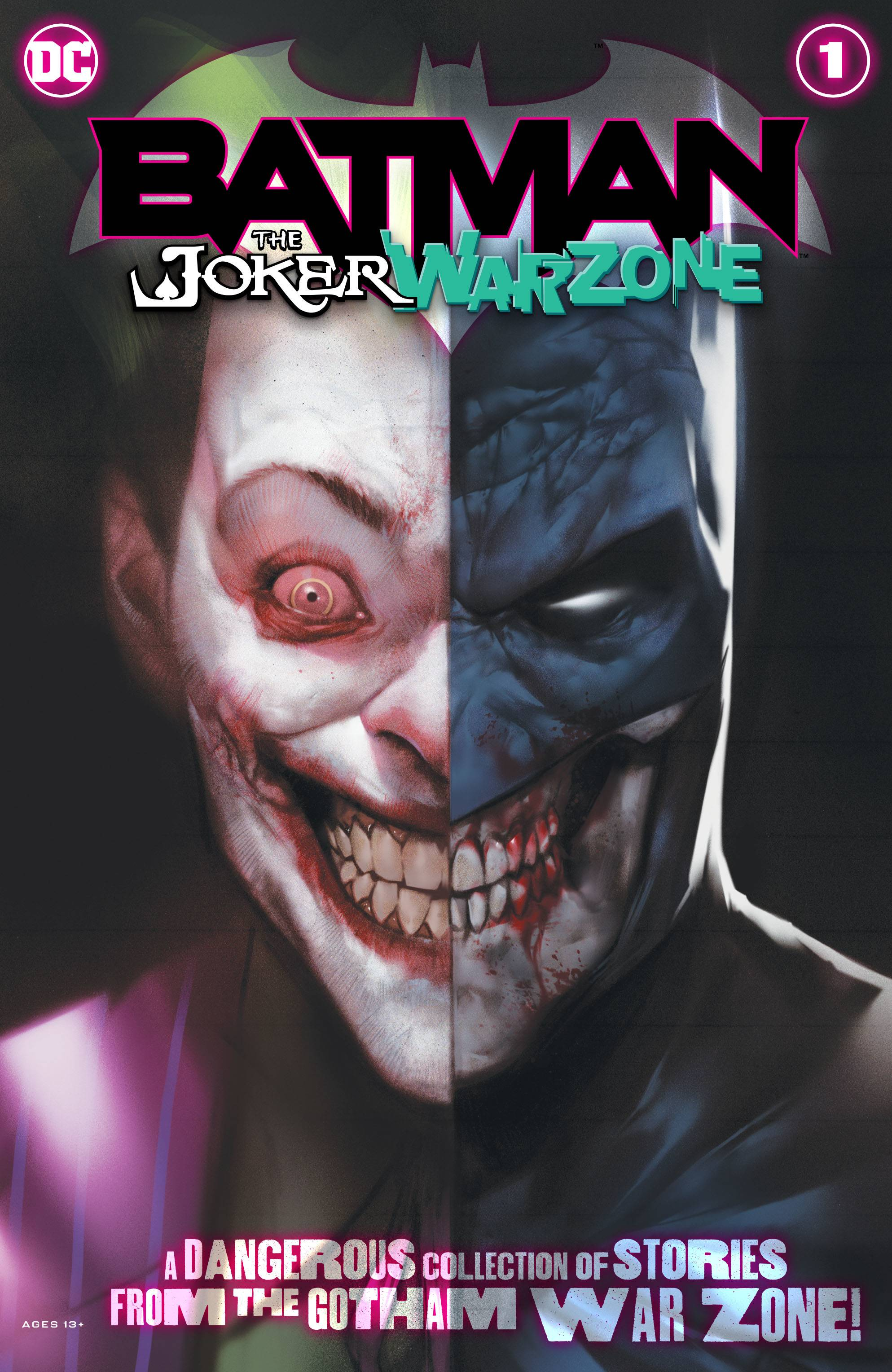 Batman The Joker Warzone #1