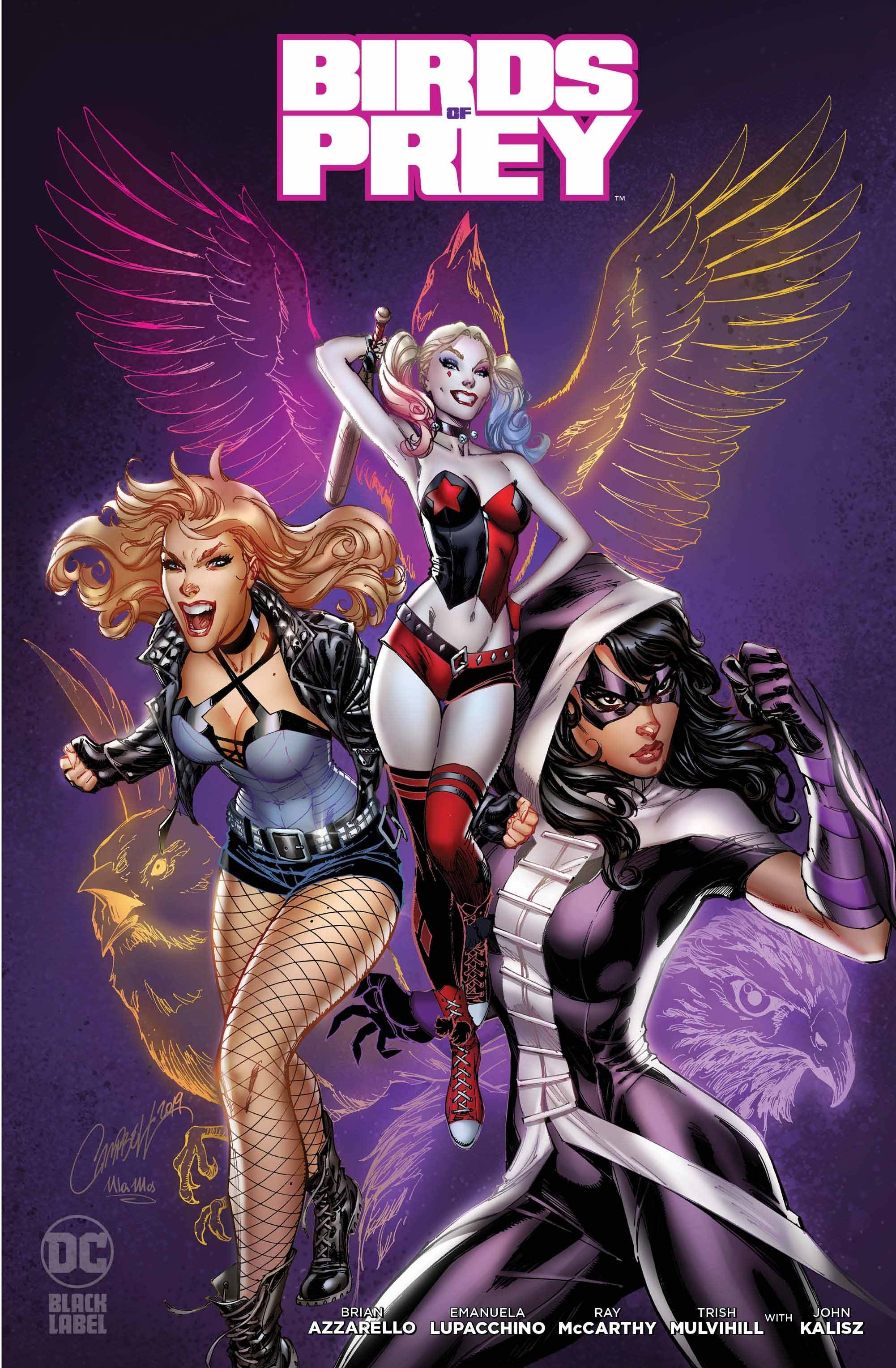 Birds of Prey Black Label #1 Var Ed.