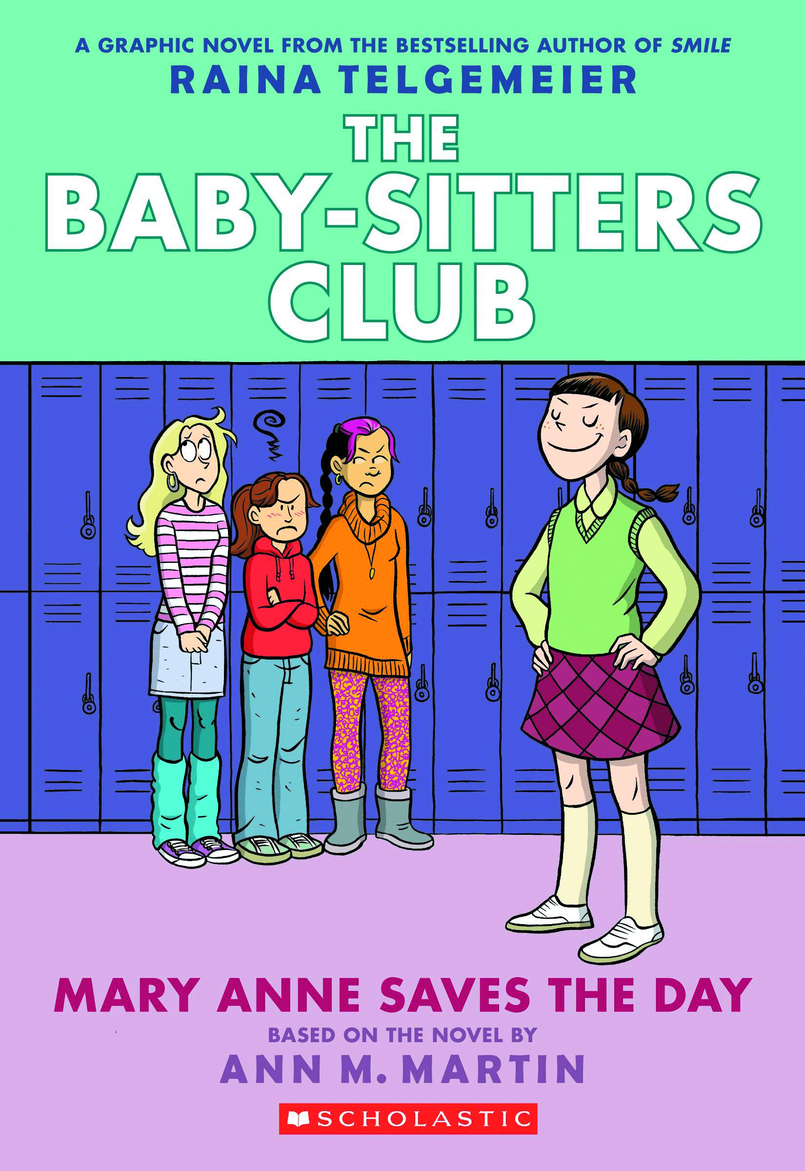Baby Sitters Club GN Vol. 3 Mary Anne Saves the Day