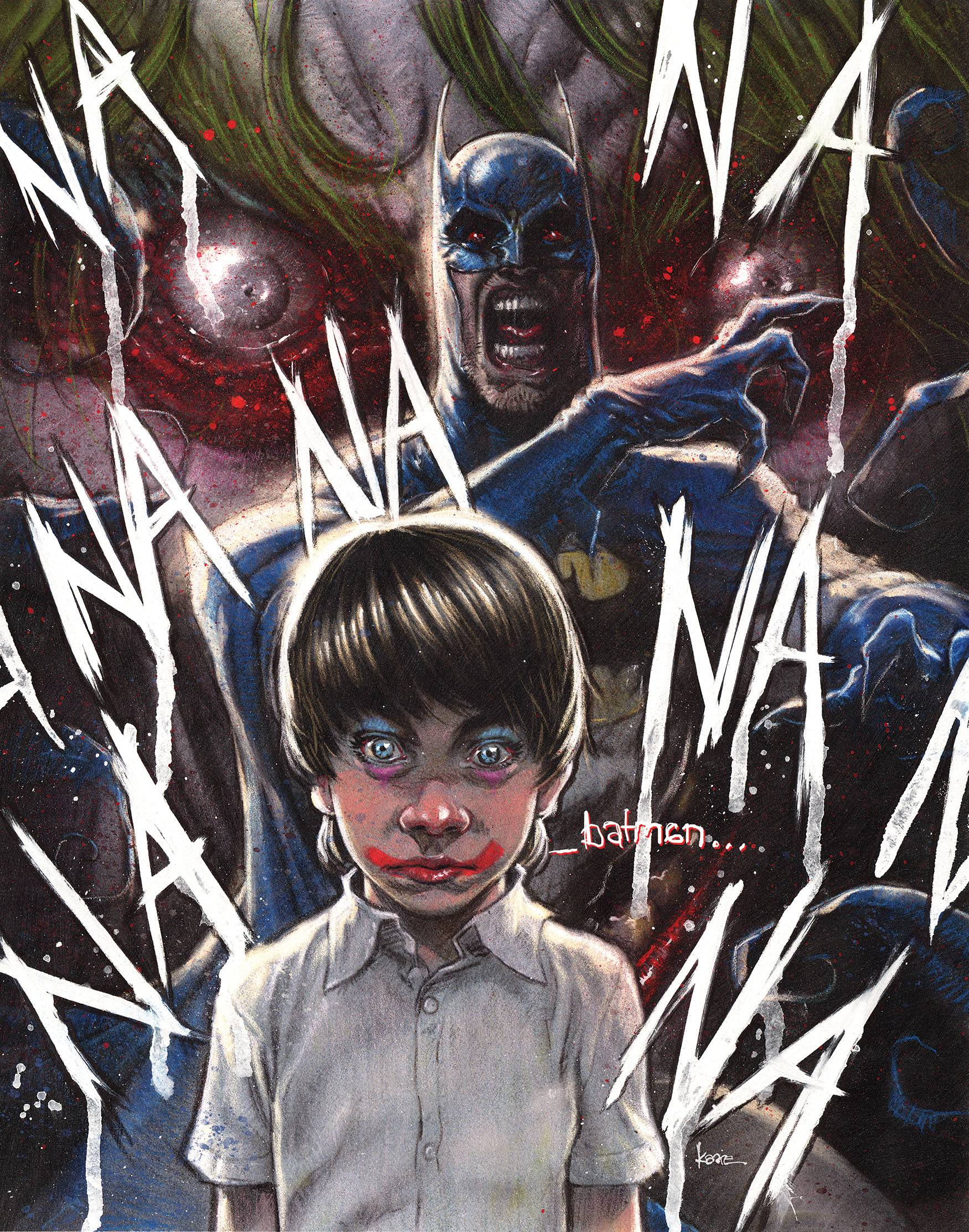 Batman: The Smile Killer Kaare Andrews Var Ed