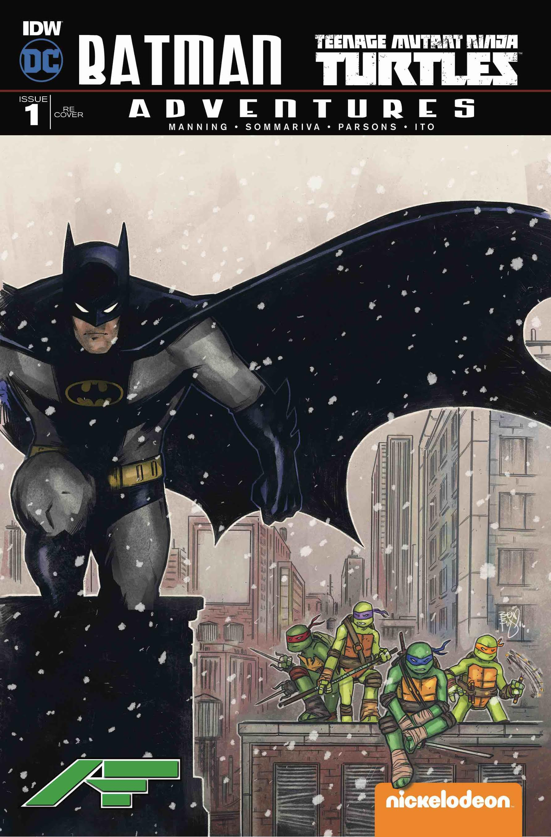 Batman/TMNT Adventures #1 Amazing Fantasy Ben Bishop Variant
