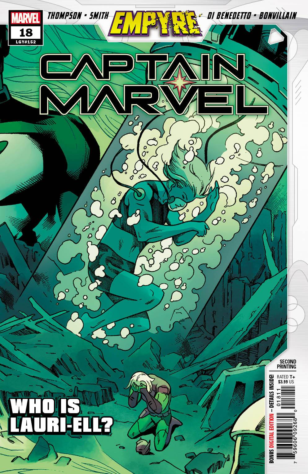 Captain Marvel #18 2nd Print