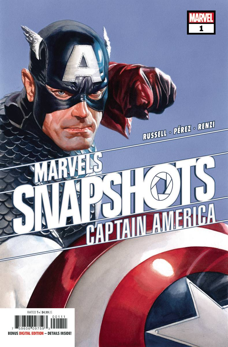 Captain America Marvels Snapshot #1