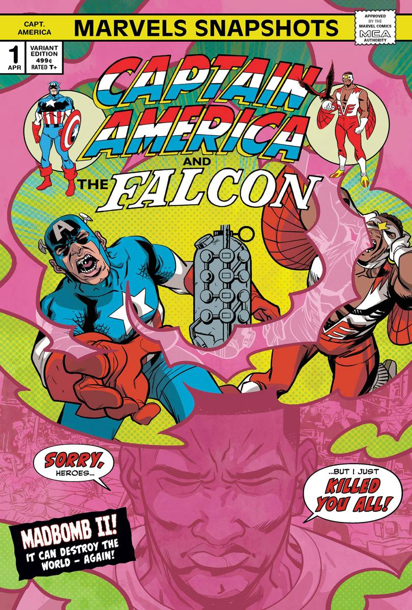 Captain America Marvels Snapshot #1 Perez Var