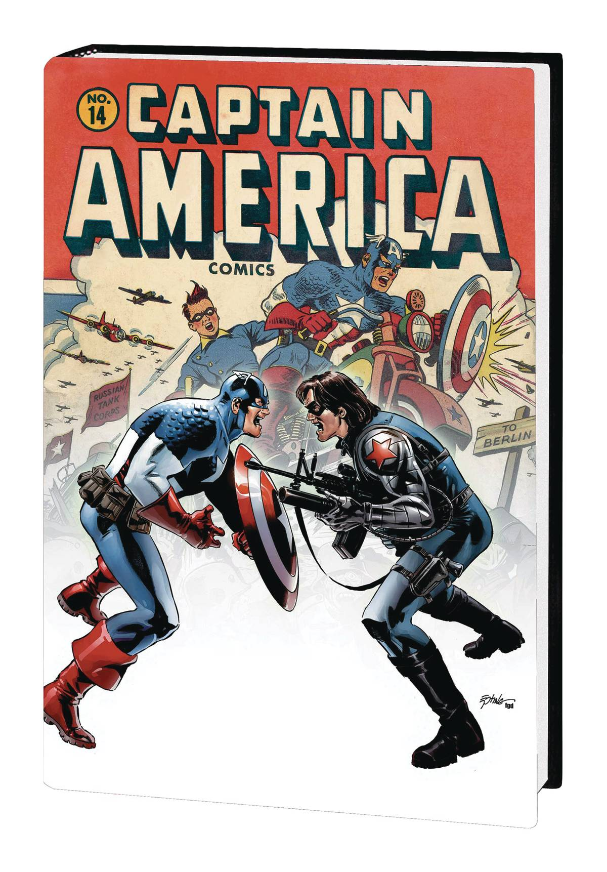 Captain America HC Winter Soldier Marvel Select Edition
