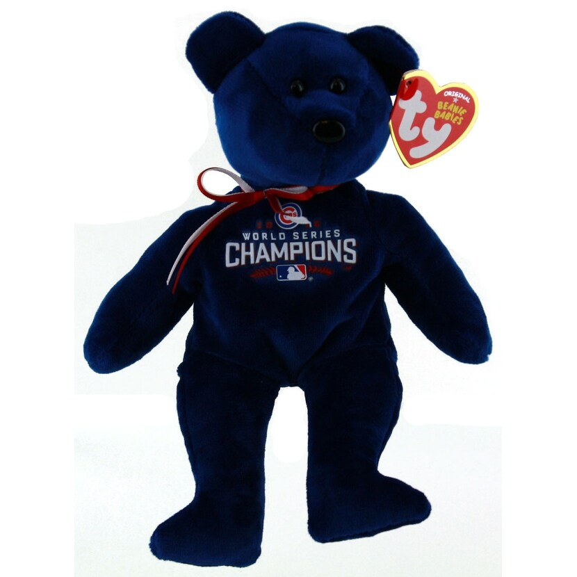 Ty Chicago Cubs 2016 World Series Beanie Baby