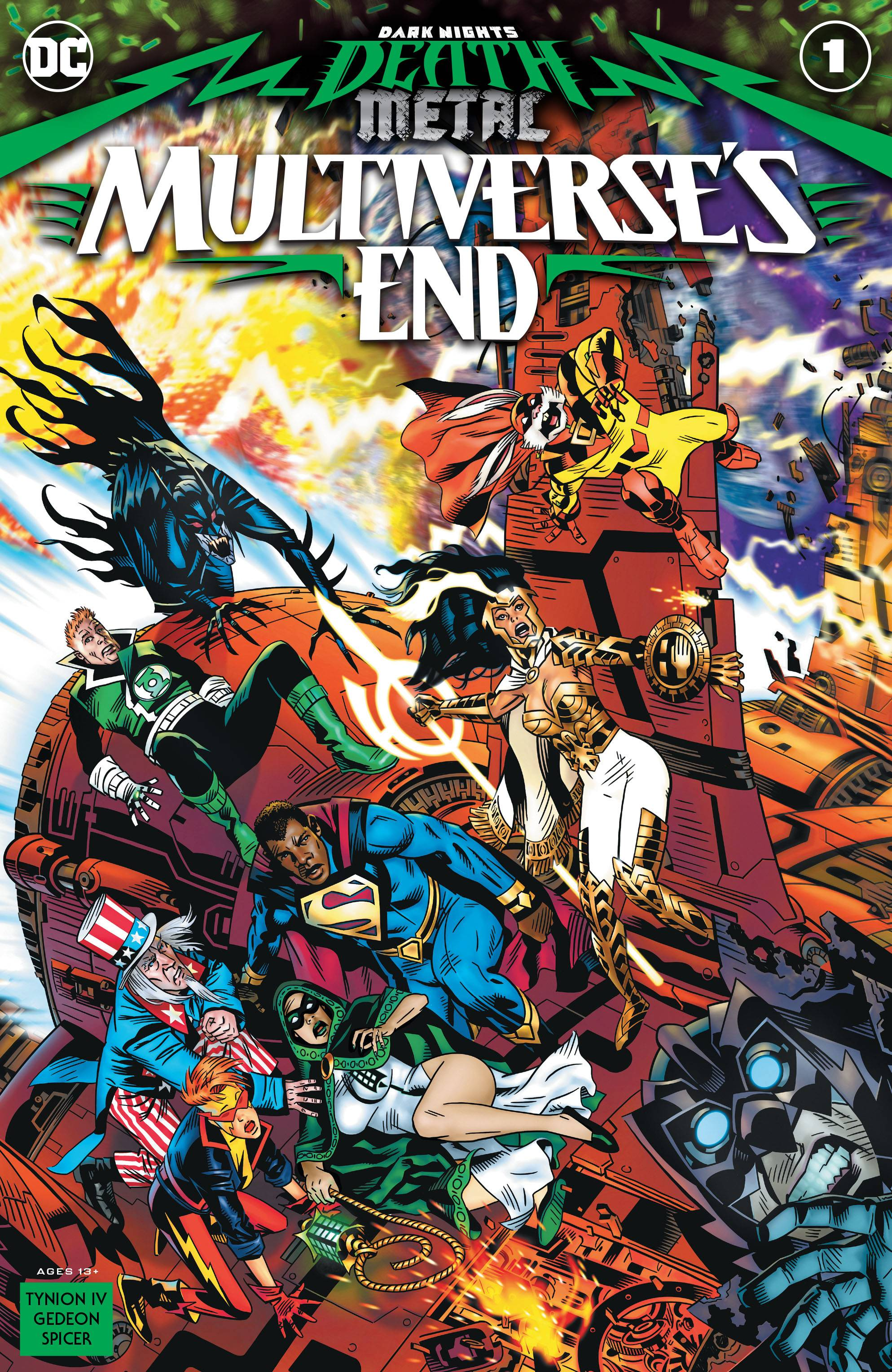 Dark Nights Death Metal Mutiverse's End #1