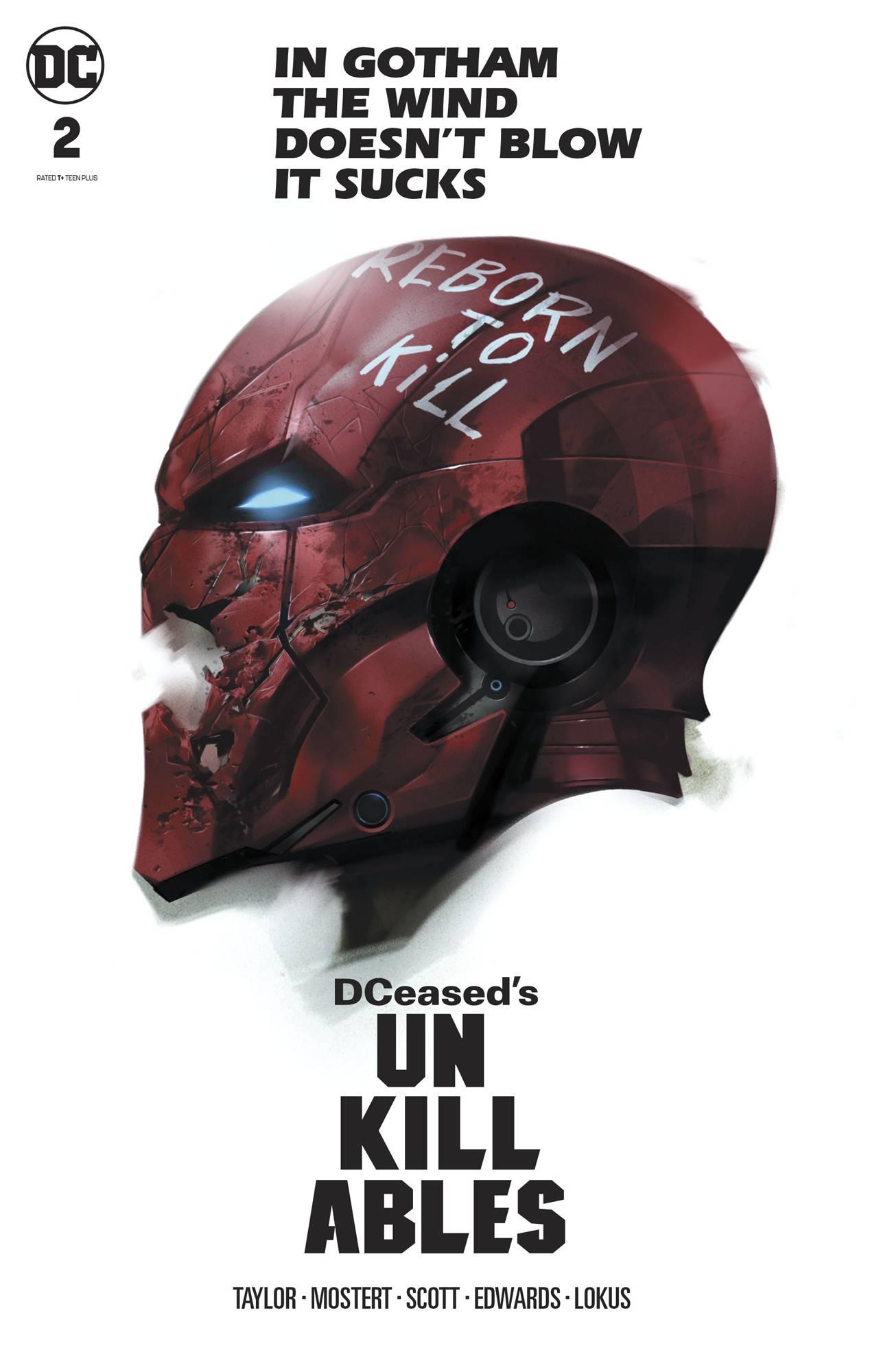 DCeased Unkillables #2 Card Stock Ben Oliver Horror Ed