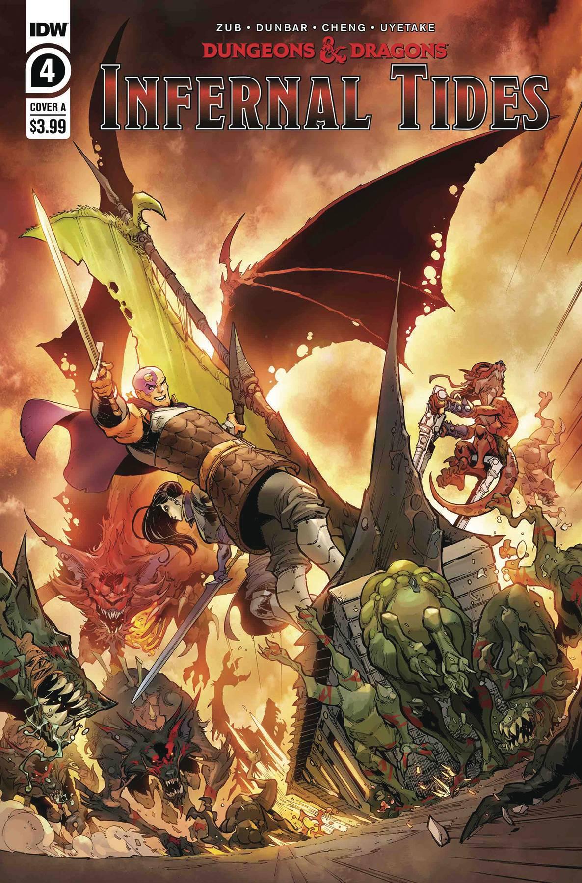 Dungeons & Dragons Infernal Tides #4