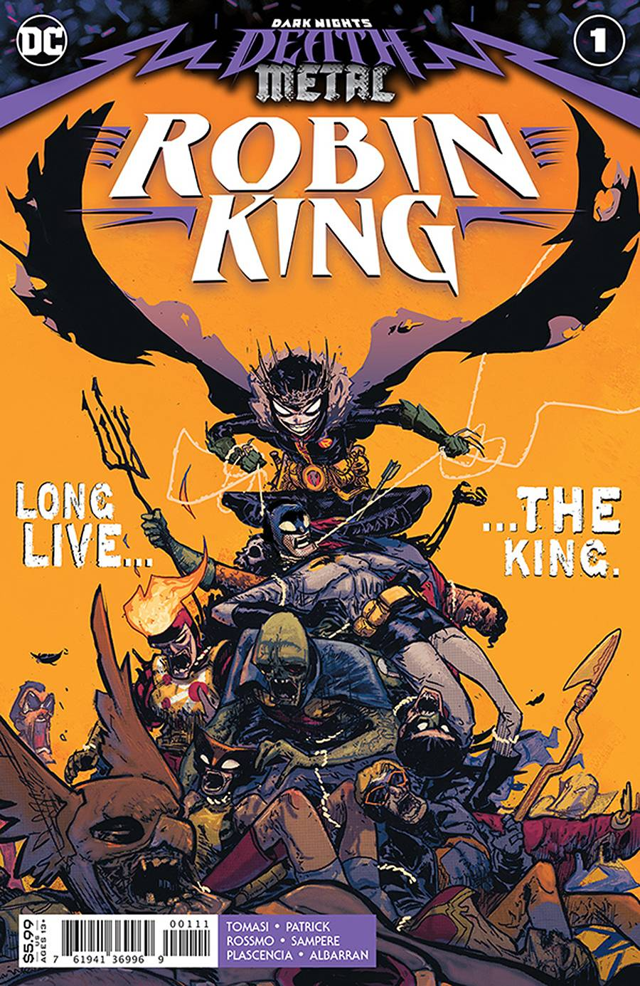 Dark Nights Death Meatal Robin King #1