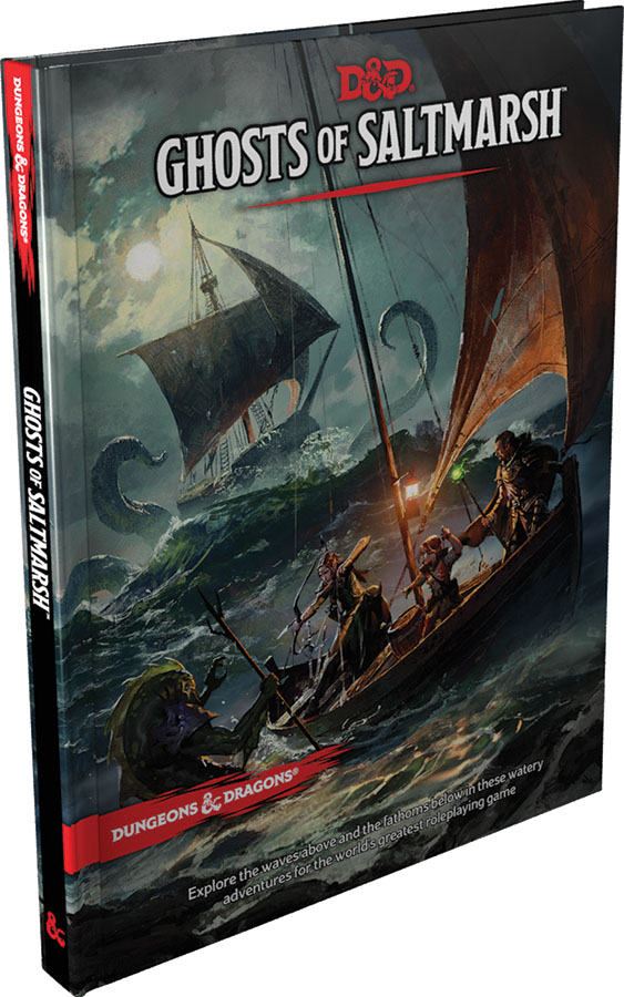 Dungeons & Dragons RPG: Ghosts of Saltmarsh