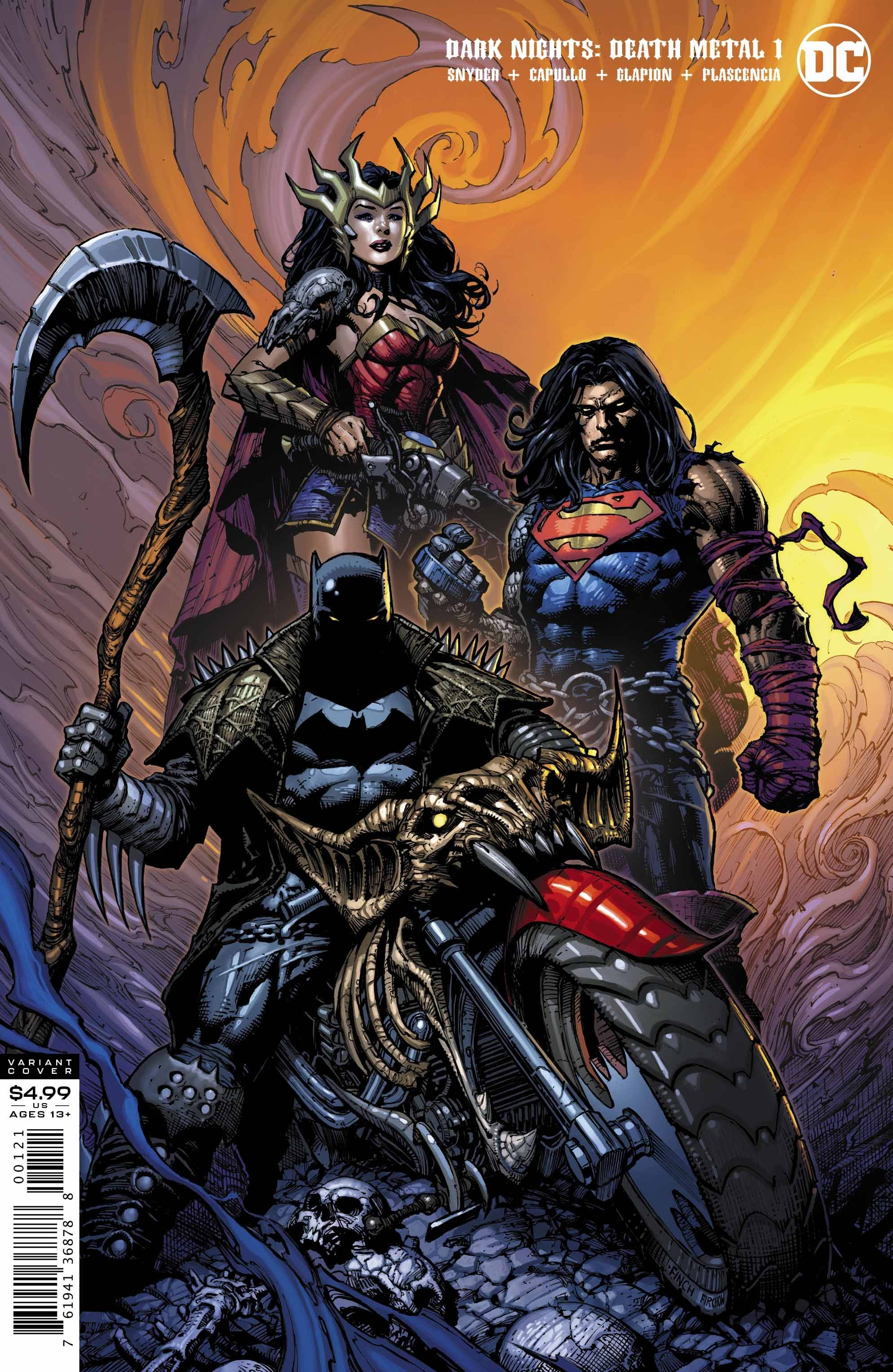 Dark Nights Death Metal #1 David Finch Var Ed