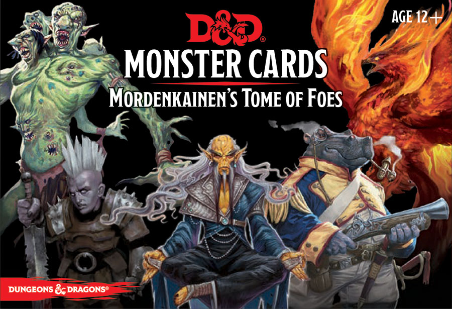 Dungeons & Dragons RPG: Monster Cards - Mordenkainen's Tome of Foes
