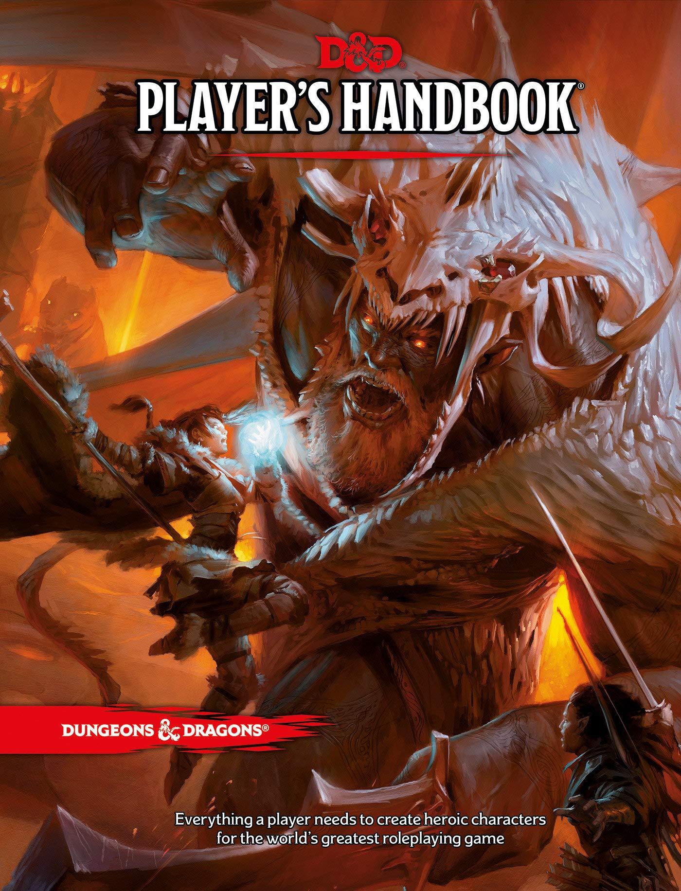 Dungeons & Dragons RPG: Player's Handbook