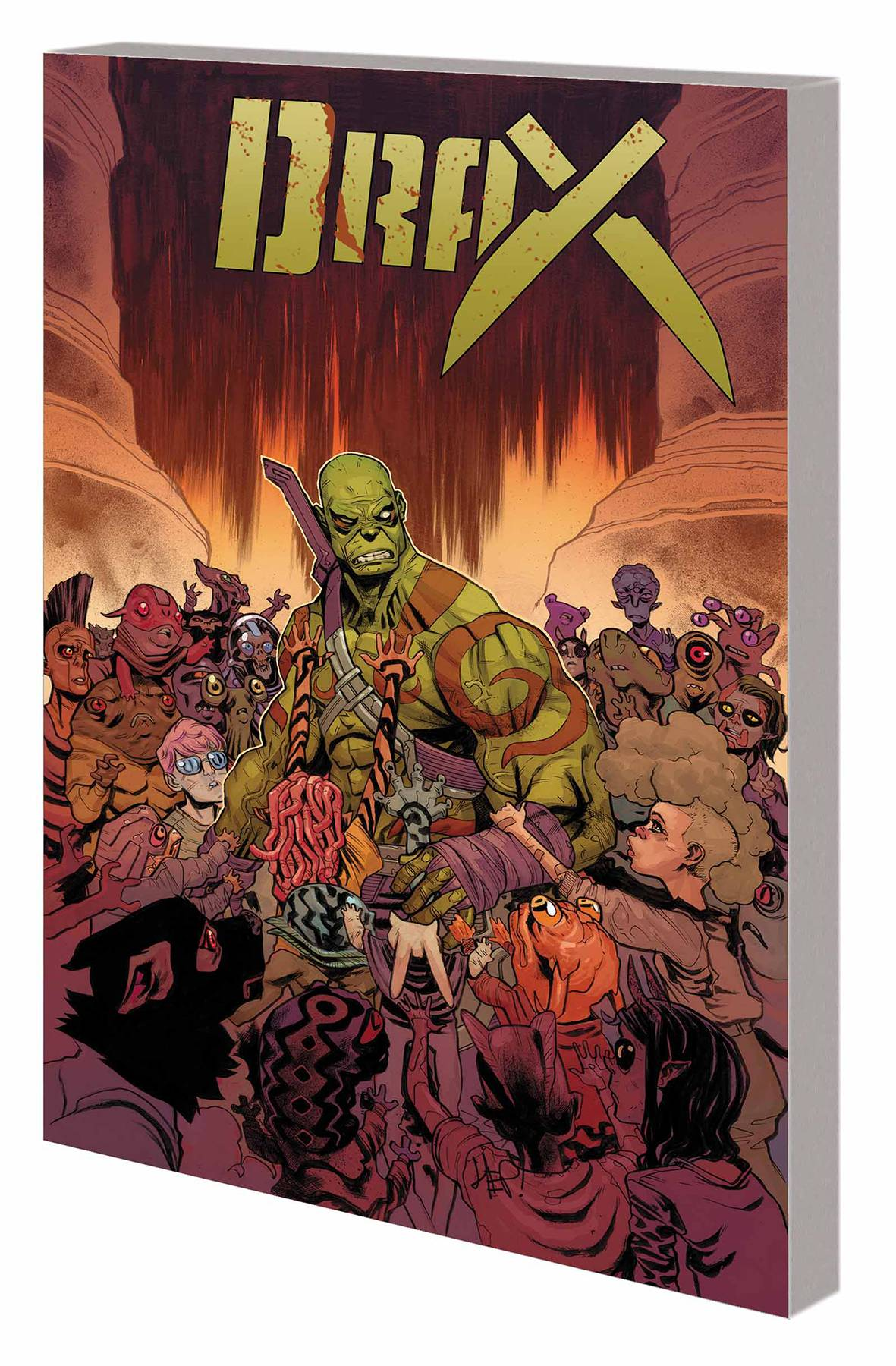 Drax TP Vol. 02 Children's Crusade