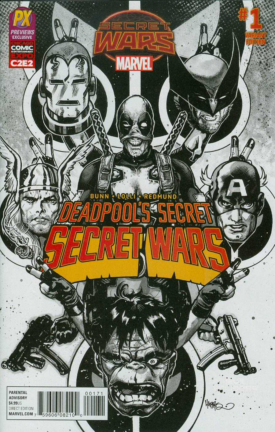 Deadpool's Secret Secret Wars #1 C2E2 Variant