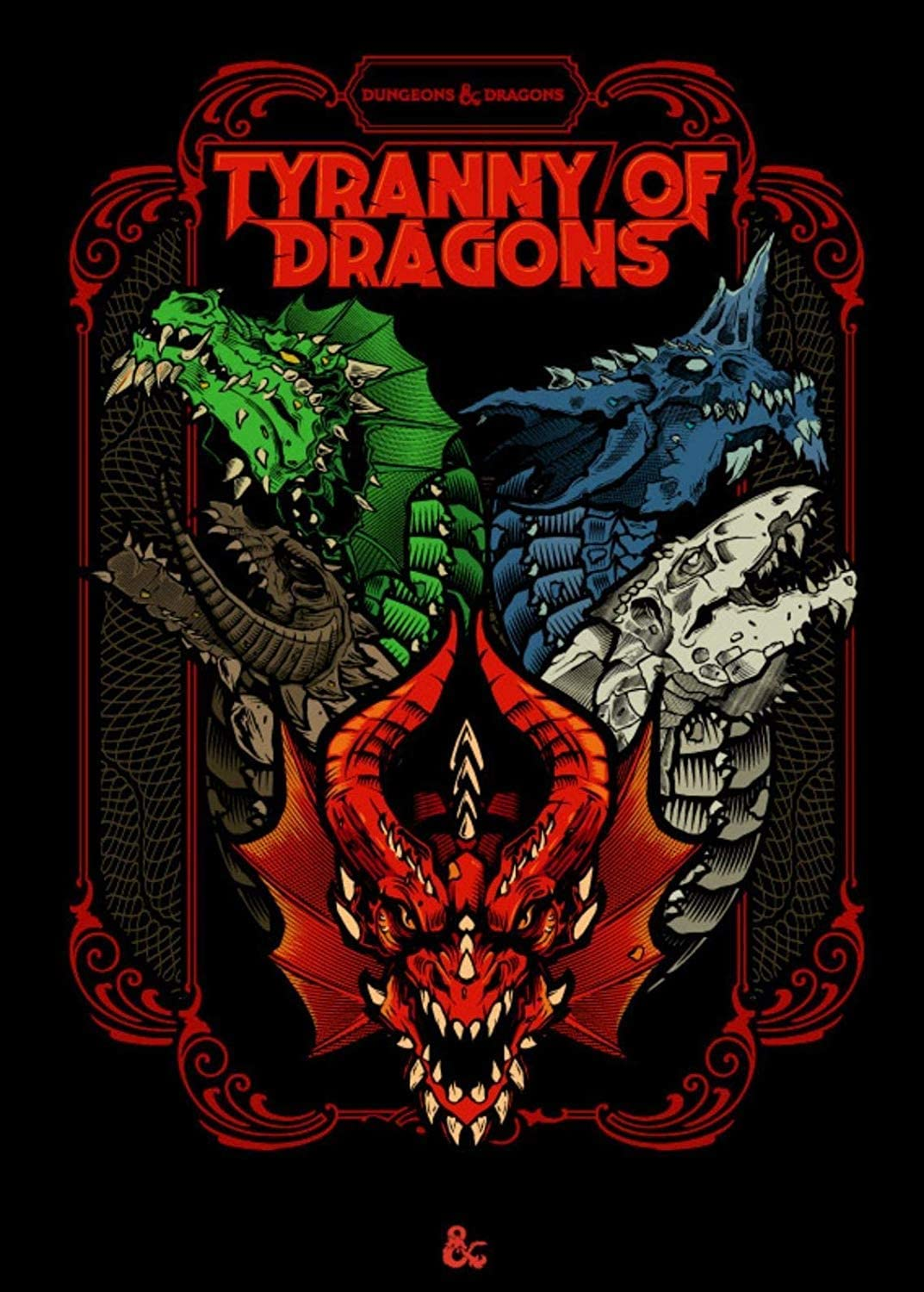 Dungeons & Dragons RPG: Tyranny of Dragons Alternate Limited Cover