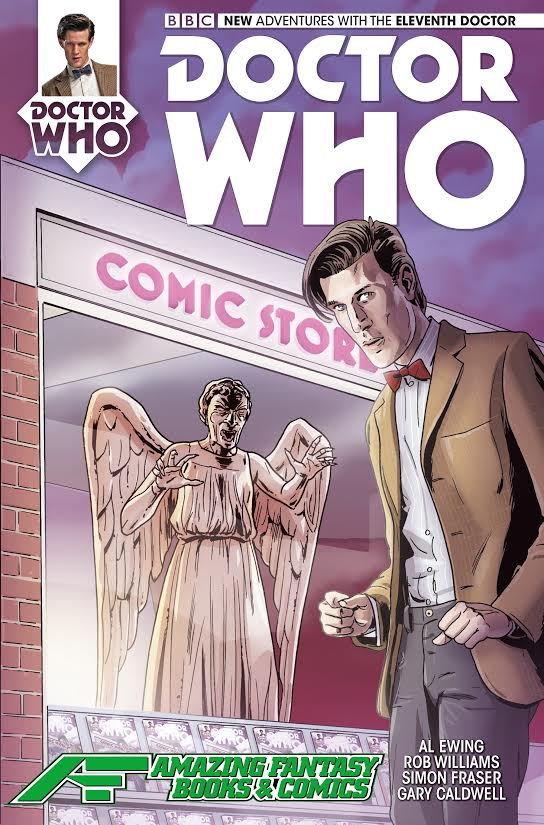 Dr. Who 11th Doctor #1 Amazing Fantasy Variant