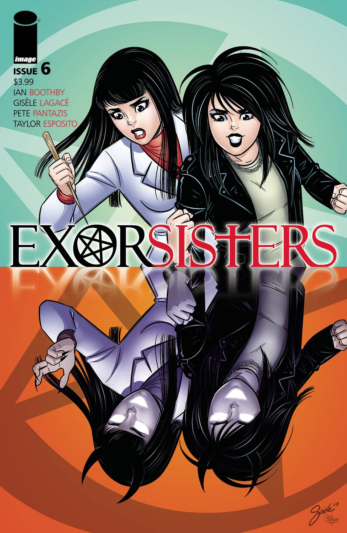Exorsisters #6 Cover A Lagace & Pantazis