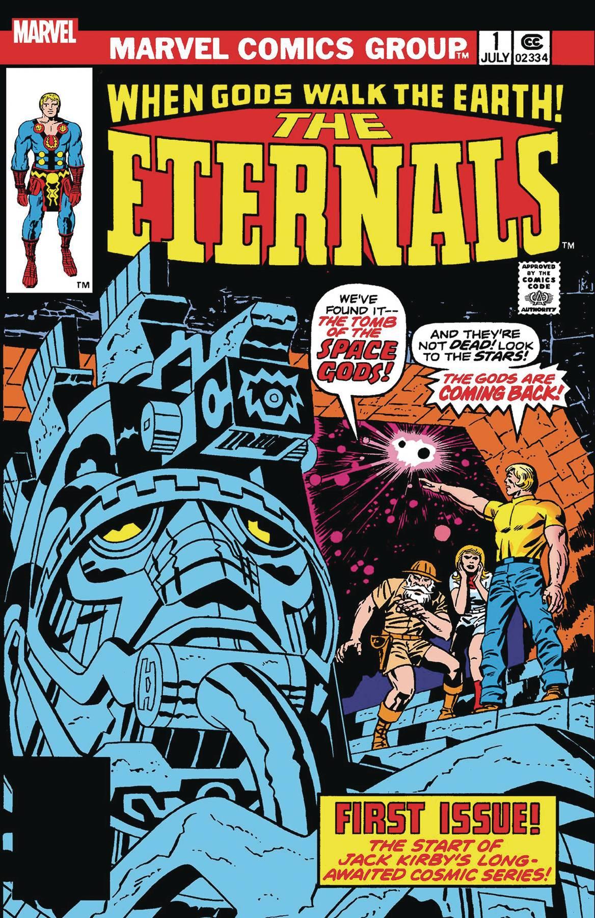 The Eternals #1 Facsimile Edition