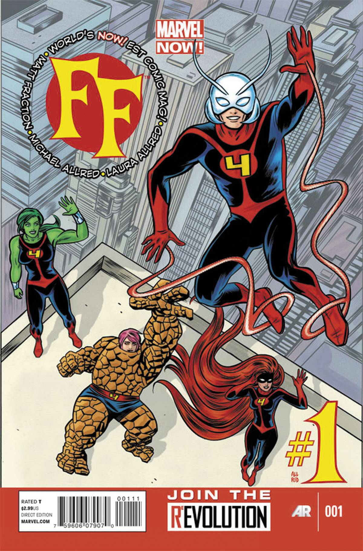 FF#1 Marvel Now