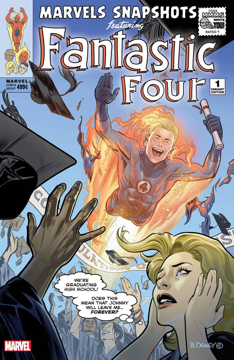 Marvel's Snapshot Fantastic Four #1 Dewey Var
