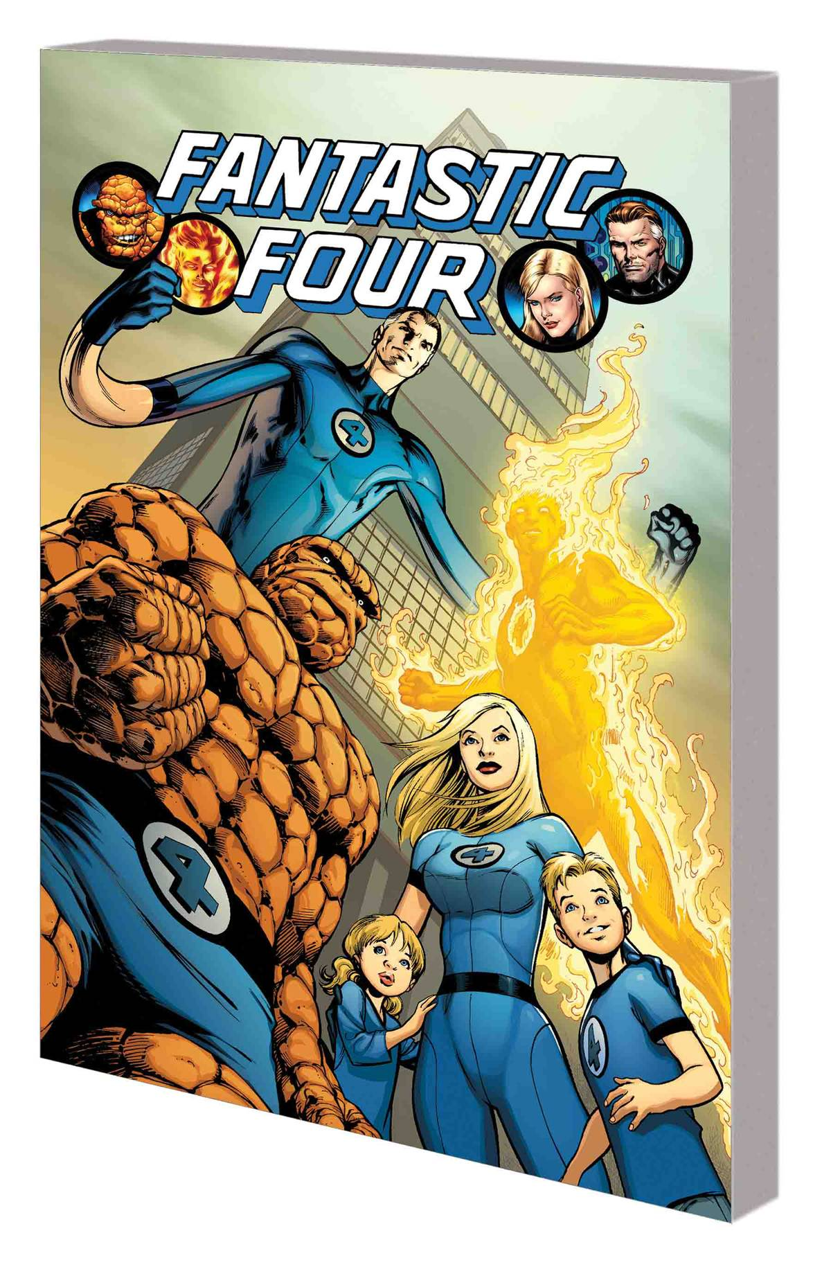 Fantastic Four by Hickman Complete Collection TP Vol. 1