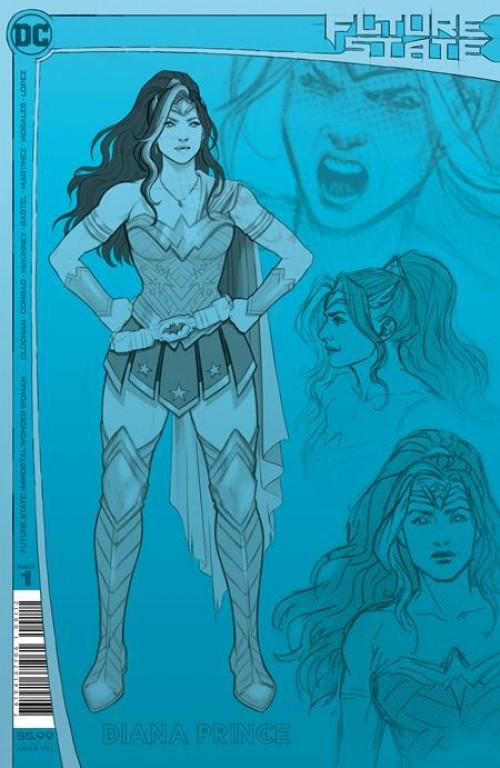 Future State: Immortal Wonder Woman #1 2nd Print