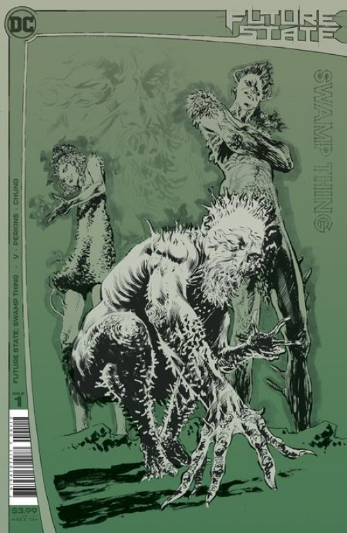 Future State: Swamp Thing #1 2nd Print