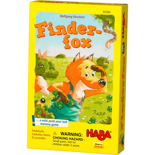 Finder Fox - Active Kids - Board Game