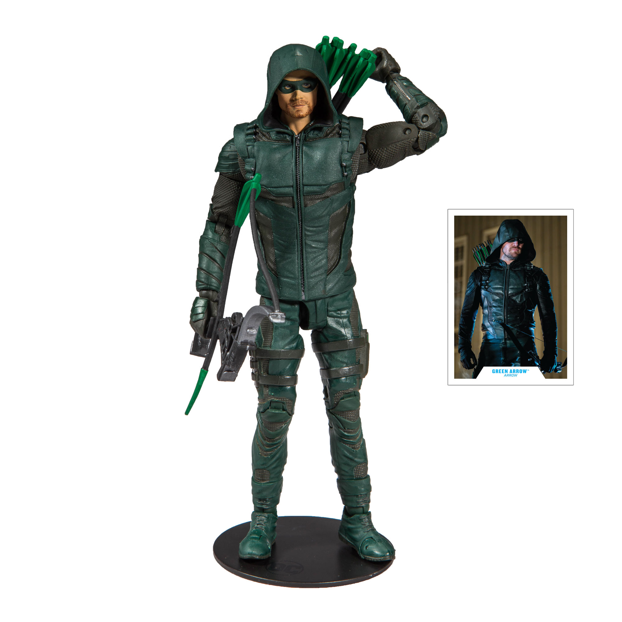 "McFarlane Toys DC Multiverse Green Arrow (Arrow) 7"" Deluxe Figure"