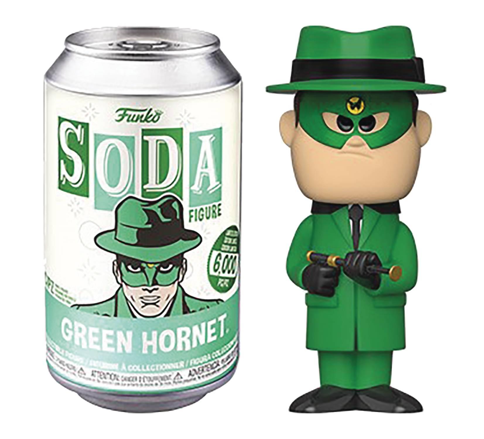 Funko Vinyl Soda Green Hornet
