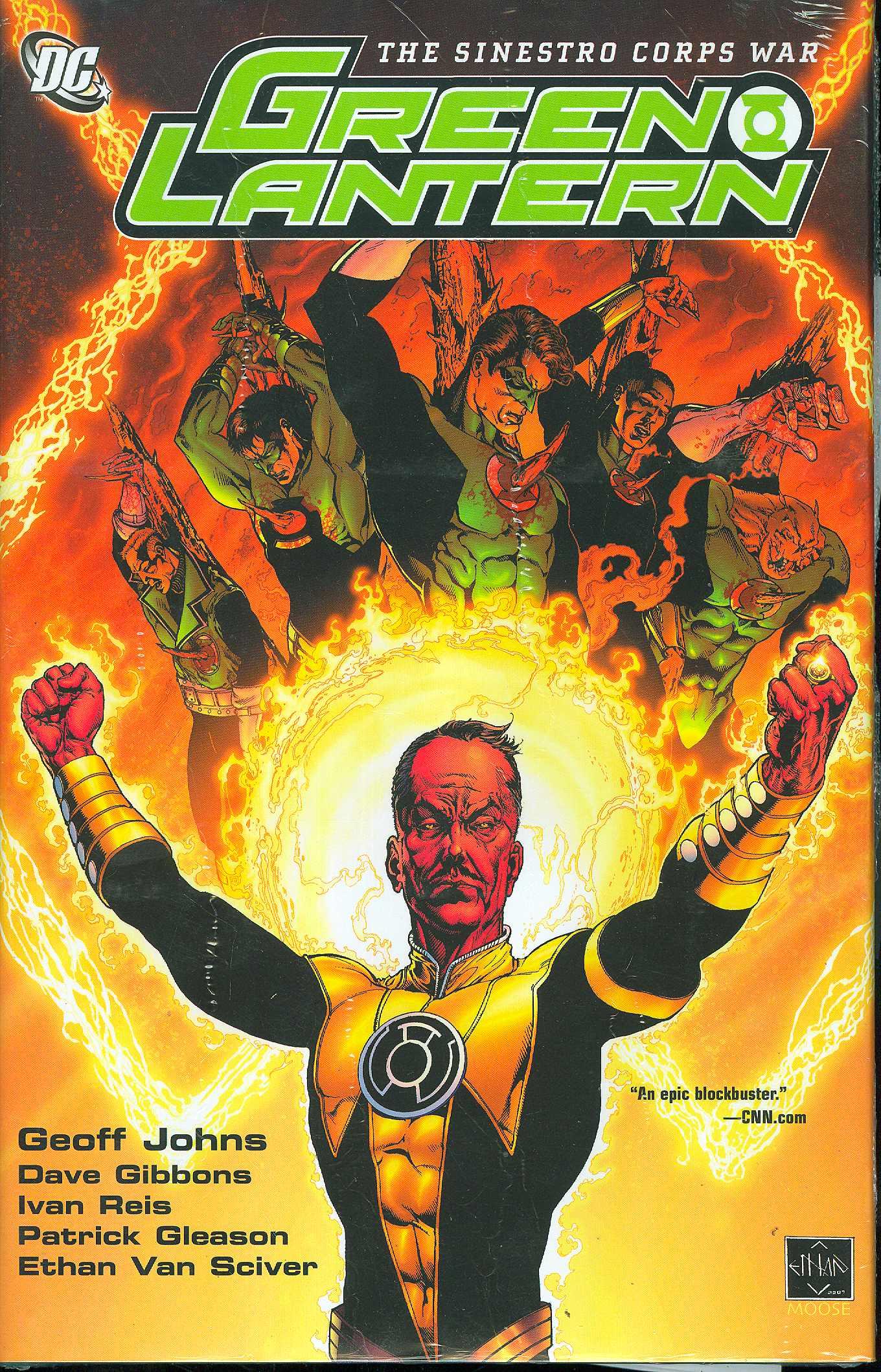 Green Lantern HC Vol. 1 Sinestro Corp War