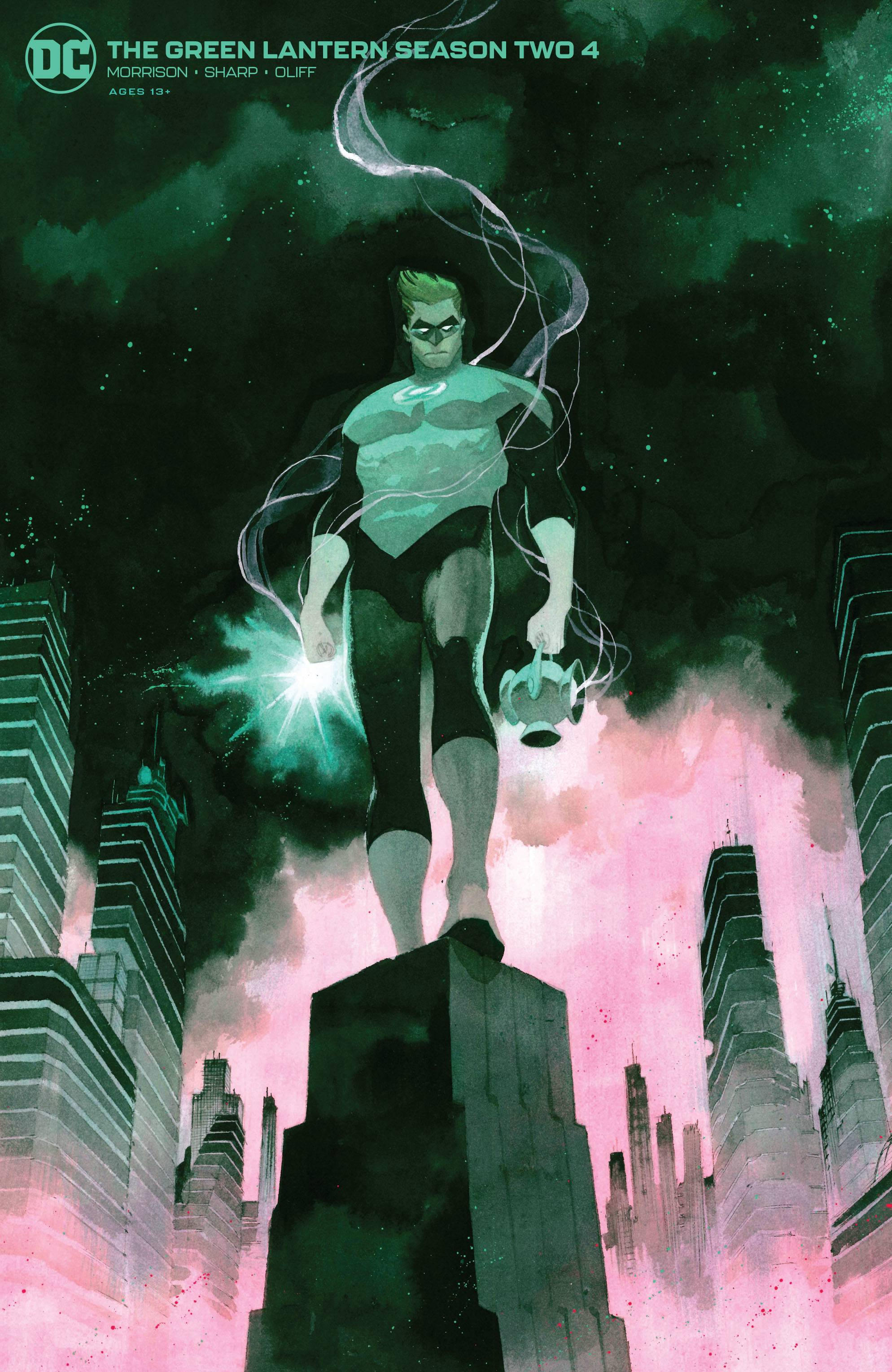Green Lantern Season Two #4
