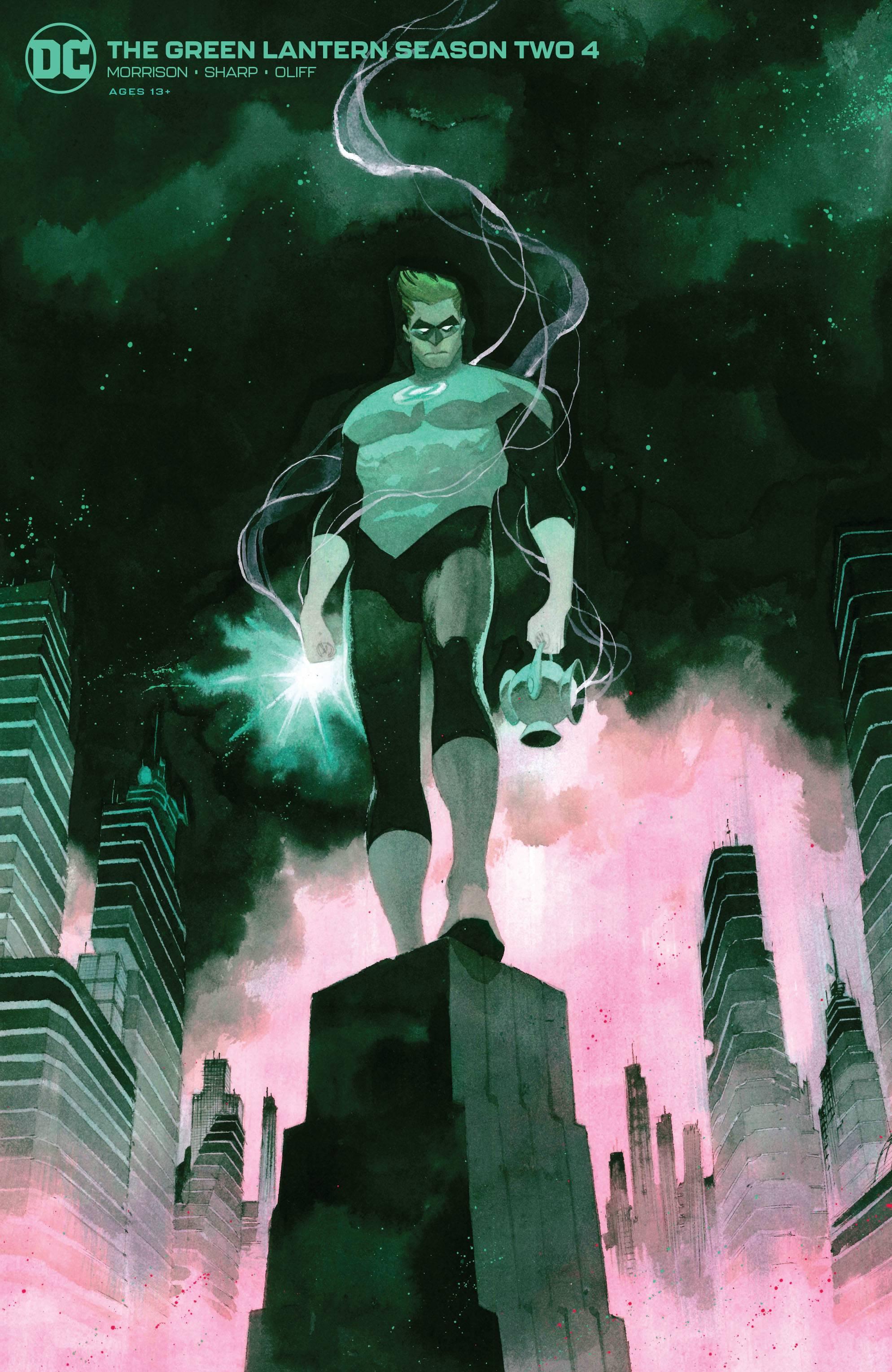 Green Lantern Season Two #4