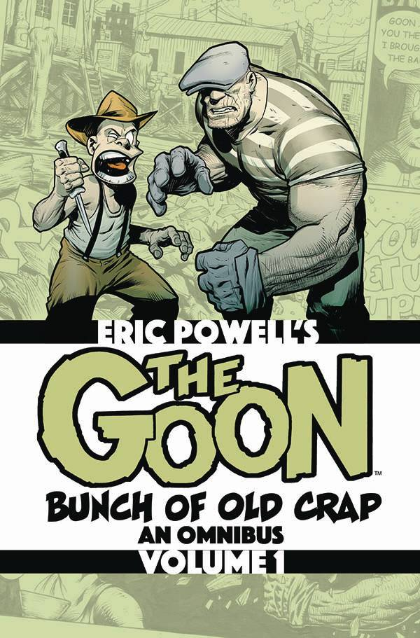 The Goon TP Omnibus 1 Bunch of Old Crap