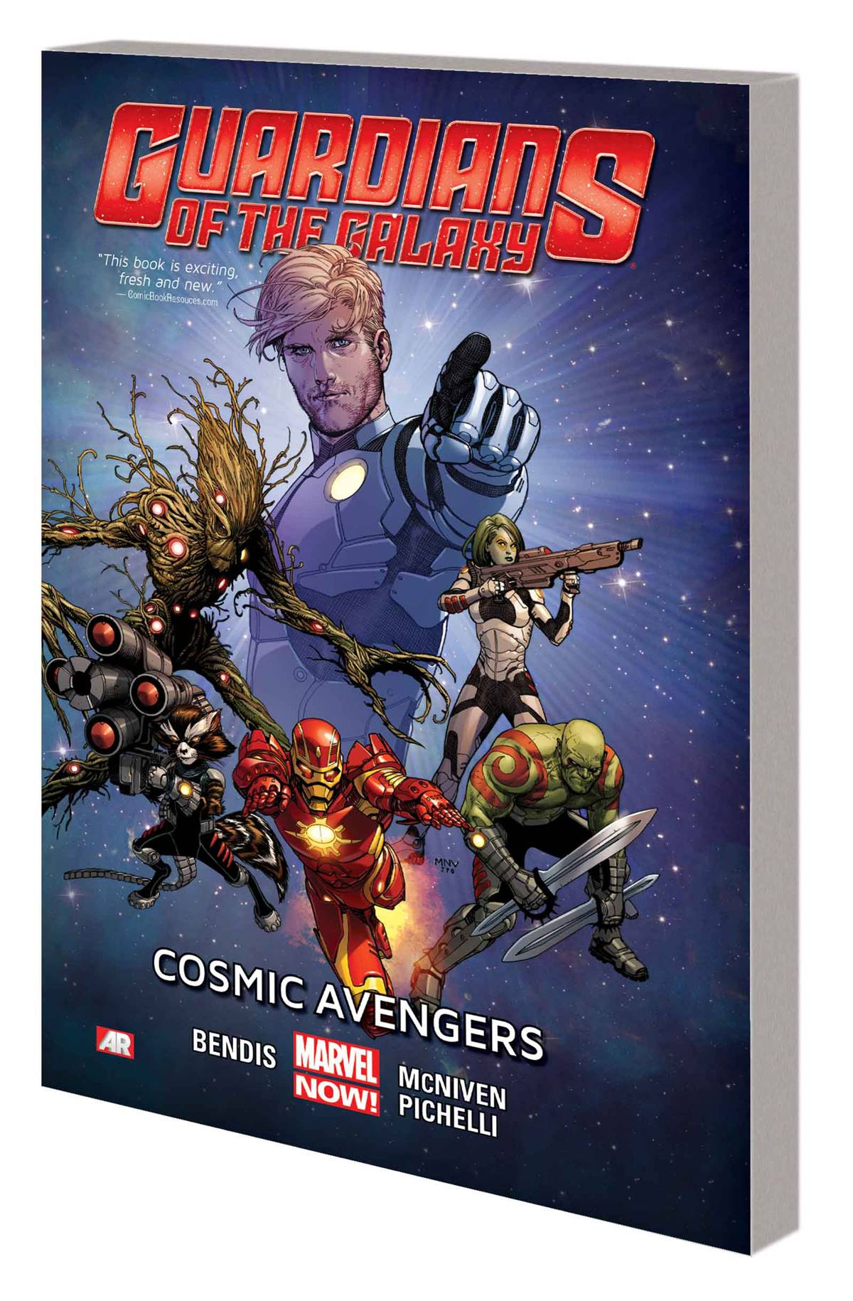 Guardians of the Galaxy TP Vol 1 Cosmic Avengers